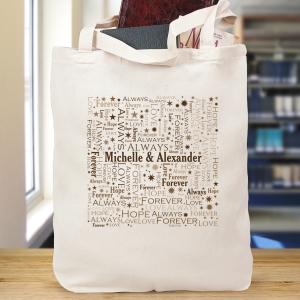 Together Word-Art Tote Bag
