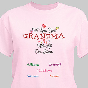 Personalized With All Our Heart T-Shirt