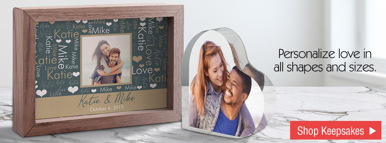 Personalized Valentine's Day Keepsakes