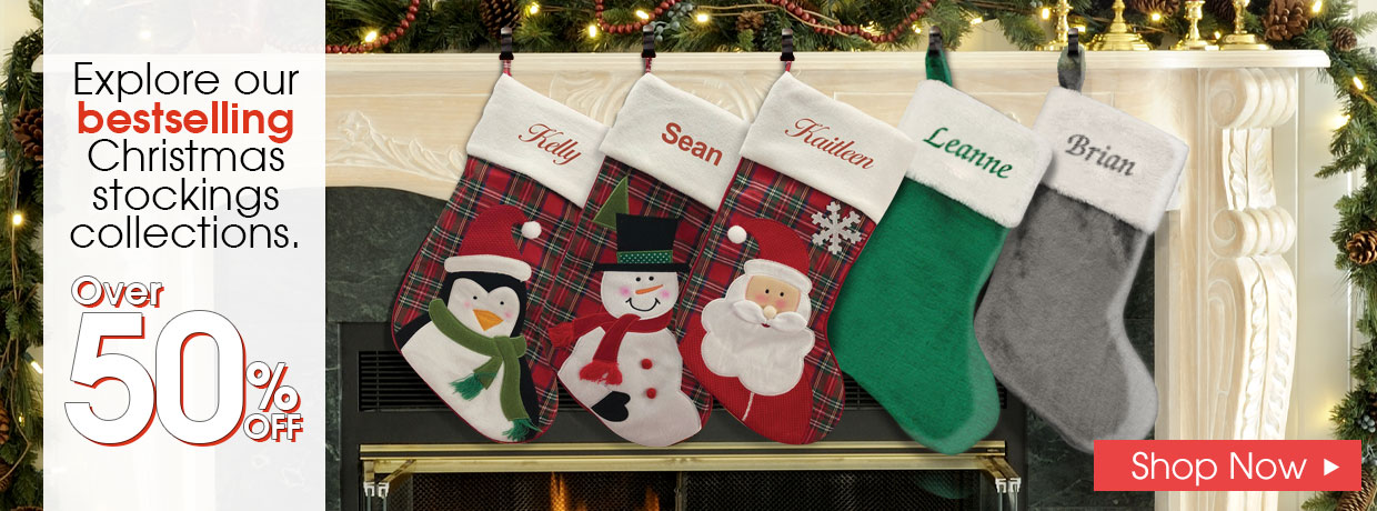 All New Christmas Gifts and Personalized Stockings