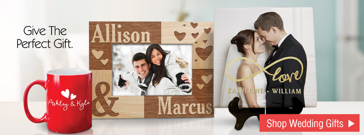 Personalized Wedding Gifts!