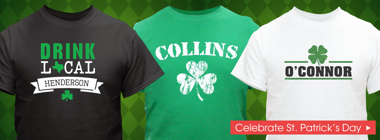 Personalized Irish Gifts for St. Patrick's Day