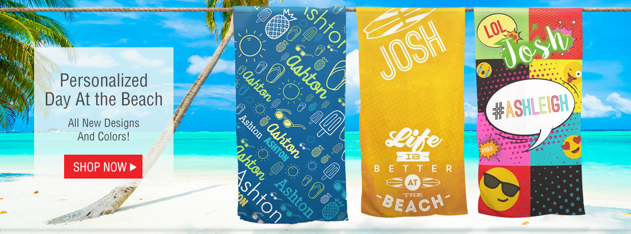 Summer Beach Towels with all new designs and styles!