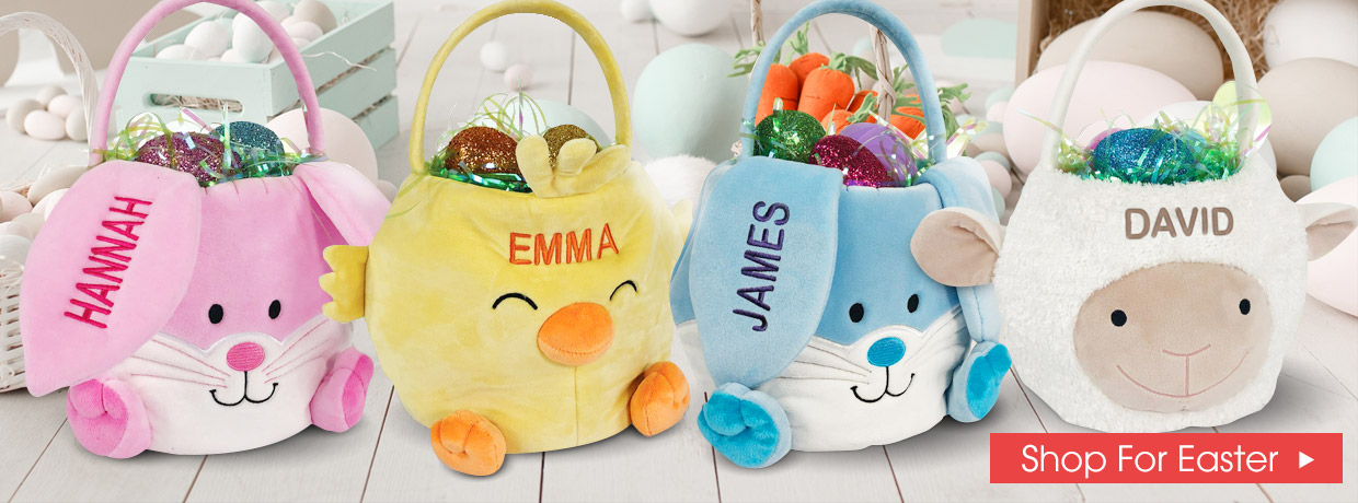 All New Easter Baskets - Chicks, Bunnies, and Sheep