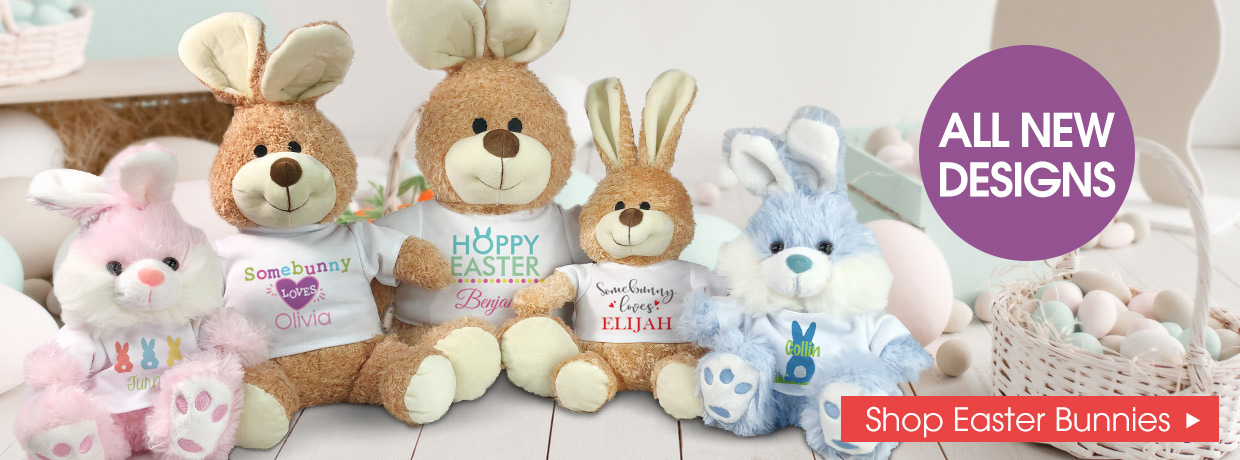 All New Easter Bunnies, Plush, and Rabbits