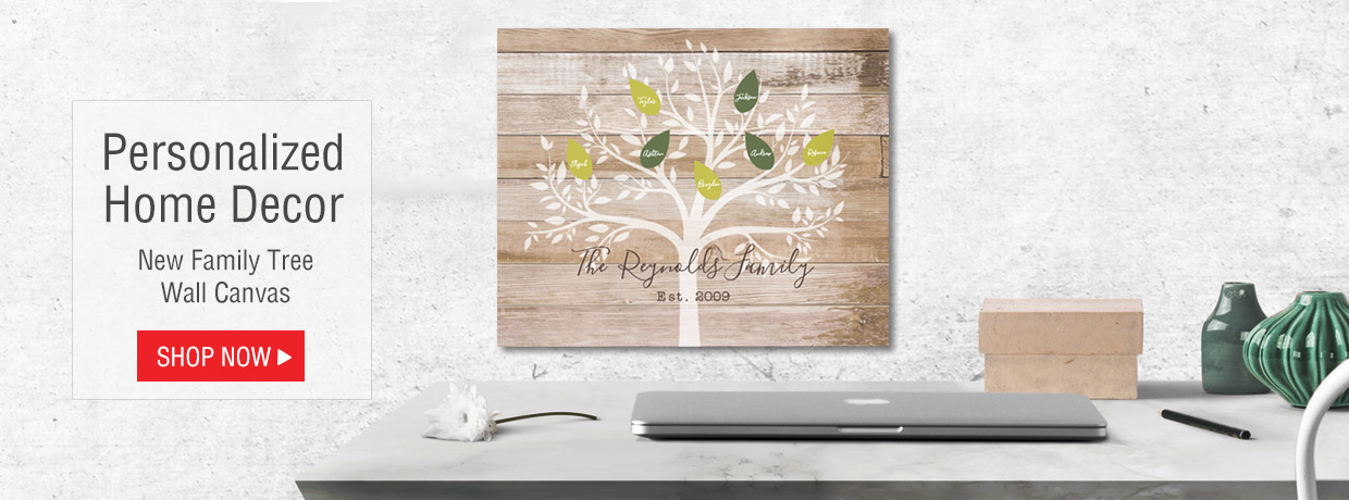 Personalized Home Decor Gifts including Spring and Easter Canvas