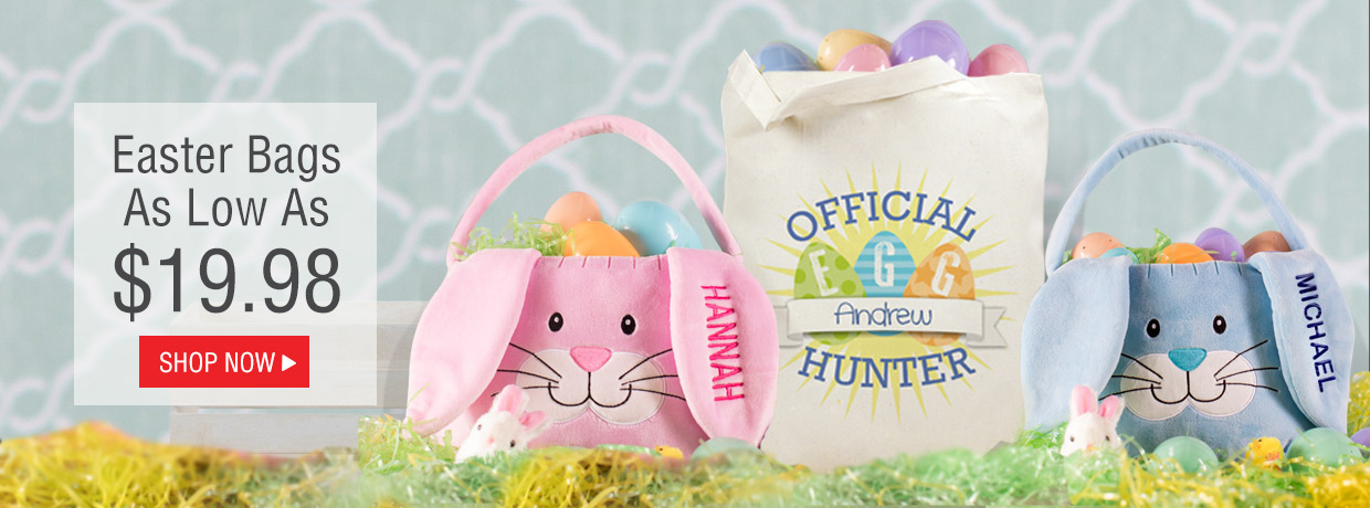 Exclusive Personalized Easter Baskets