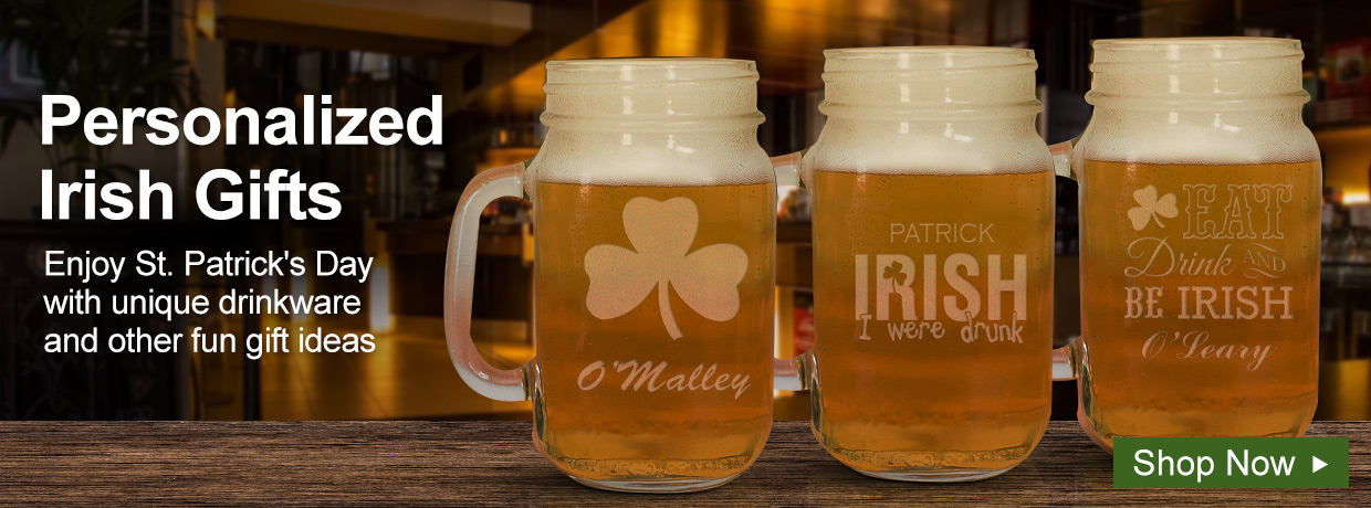 Personalized Irish and St. Patrick's Day Gifts