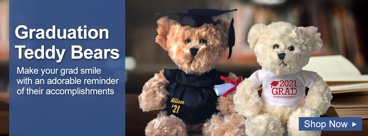 Personalized Graduation Gifts and Teddy Bears