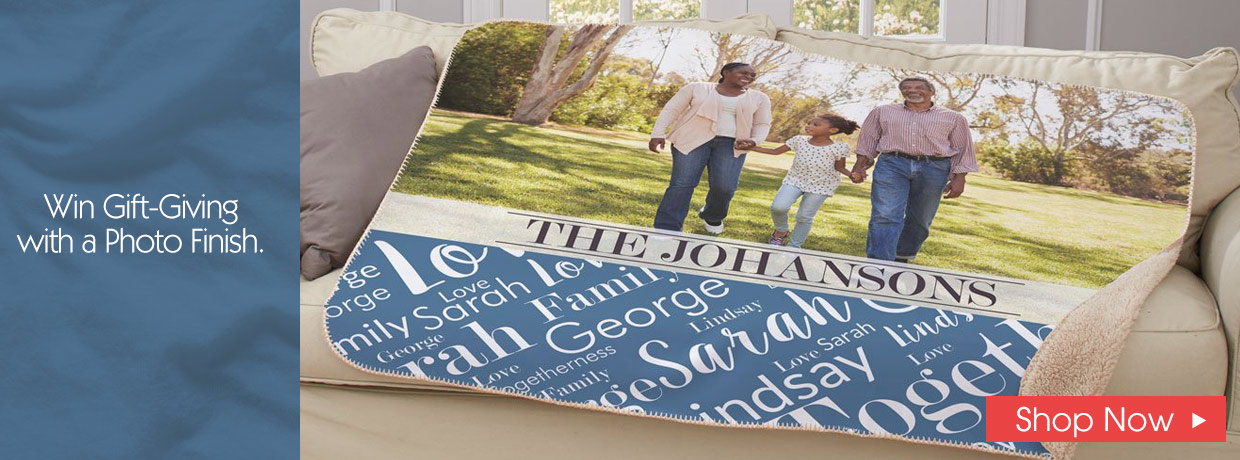 Warm and Cozy Personalized Photo Gifts