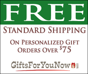 GiftsForYouNow.com 300x250 shipping banner