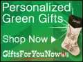 CyberMonday Green Gifts