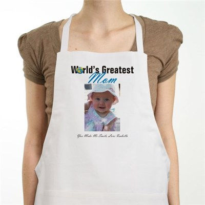 Personalized Photo Apron