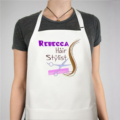 Personalized Hair Stylist Apron