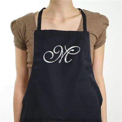 Personalized Initial Chef Apron