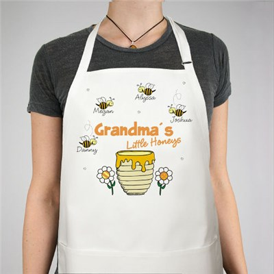 Custom Printed Little Honeys Kitchen Apron