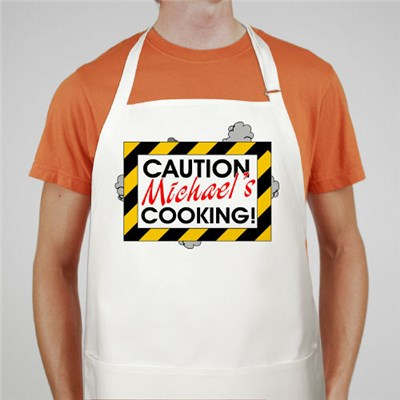 Personalized Grill Apron - BBQ Apron