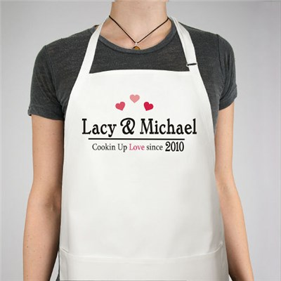 Personalized Love Apron