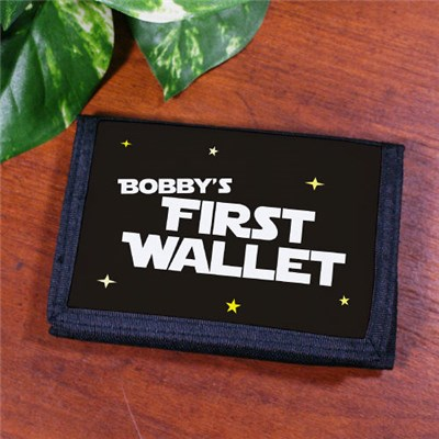 Personalized Kid Velcro Wallet