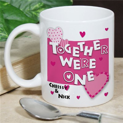 Personalized Couples Coffee Mug