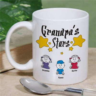 Personalized Father's Day Coffee Mugs