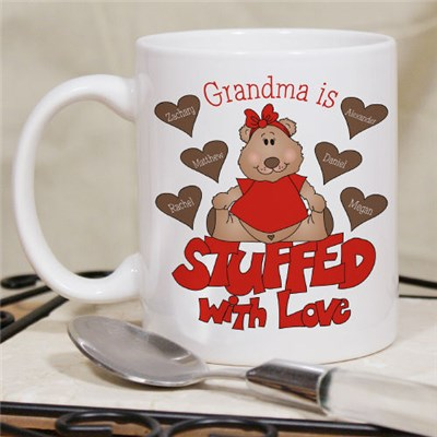 Personalized Grandma Love Mug