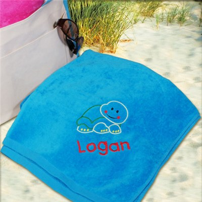 Personalized Beach Towel for Him