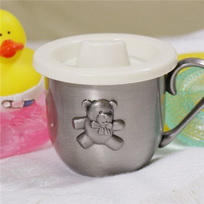 Engraved Teddy Bear Baby Cup