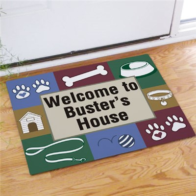 Personalized Dog Doormat