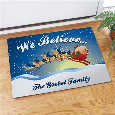 Custom Printed Christmas Doormat