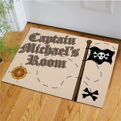 Personalized Boys Room Doormat