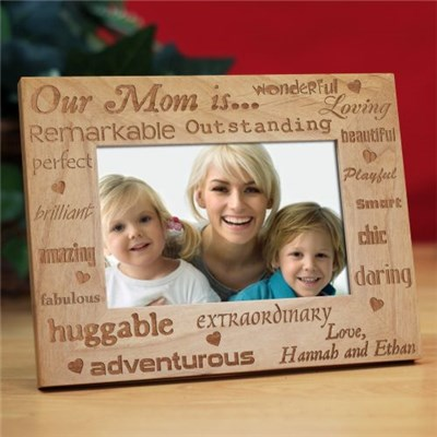 Personalized Mother's Day Photo Frame
