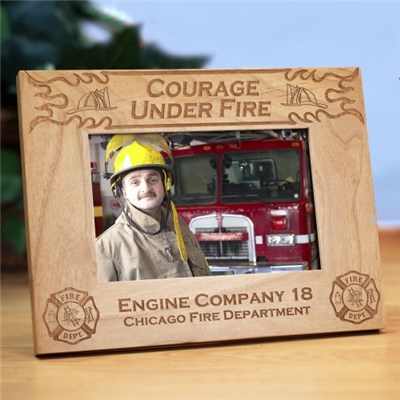 Fire Department Picture Frame