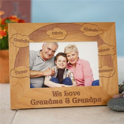 Personalized Love of Family Picture Frames