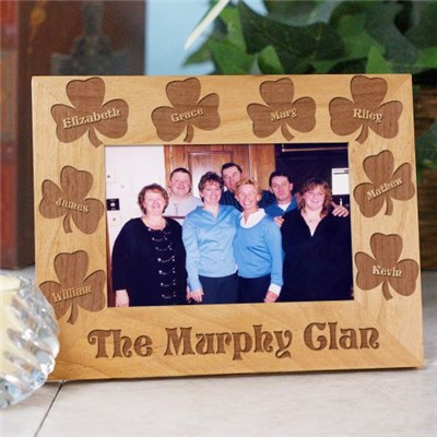 Personalized Irish Clan Picture Frame