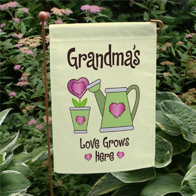 Personalized Garden Flag for Mom