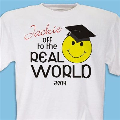 Custom Printed 2014 Graduation T-shirt