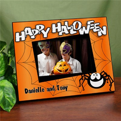 Personalized Happy Halloween Picture Frames
