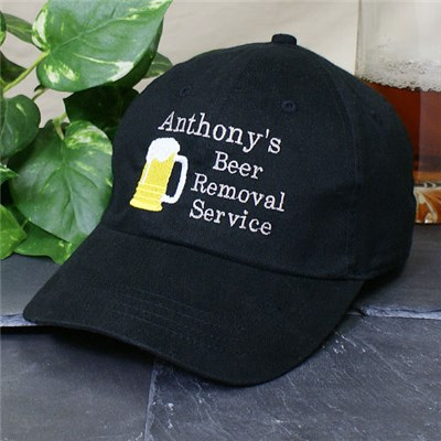 Embroidered Beer Hat for Him