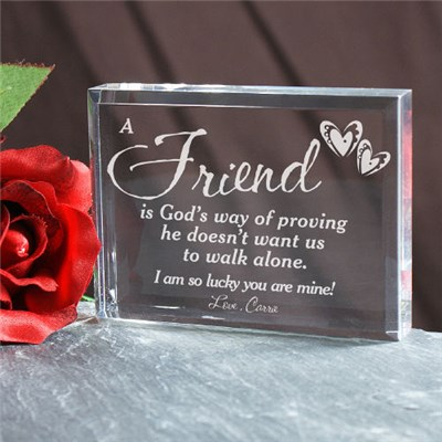 Personalized Friendship Keepsake
