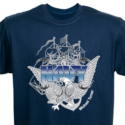 Custom Printed U.S. Navy Tee Shirts
