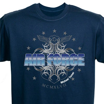 Custom Printed U.S. Air Force Tee Shirts