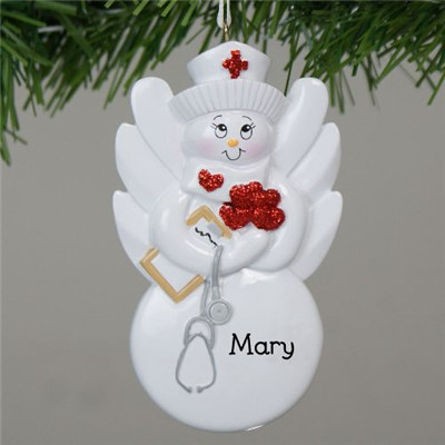 Personalized Nursing Ornament
