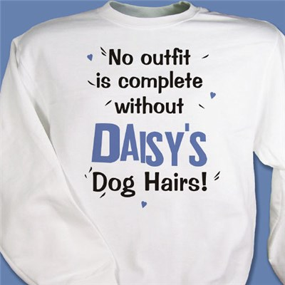 Personalized Dog Lover Sweatshirt