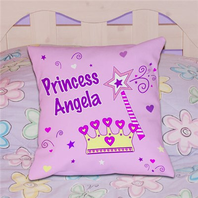 Personalized Princess Throw Pillows
