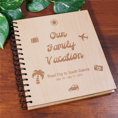 Personalized Vacation Photo Album
