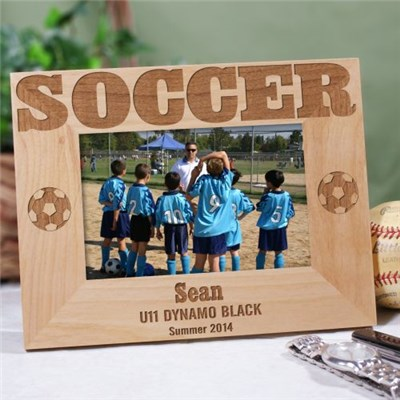 Personalized Soccer Team Picture Frame