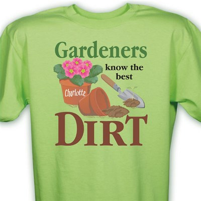 Personalized Gardening T-Shirts