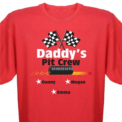 Personalized Race Fan Tee Shirt