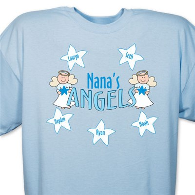 Personalized Angels Shirt